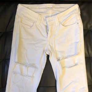 Urban Outfitters White HighRise Skinny Jeans SZ 25